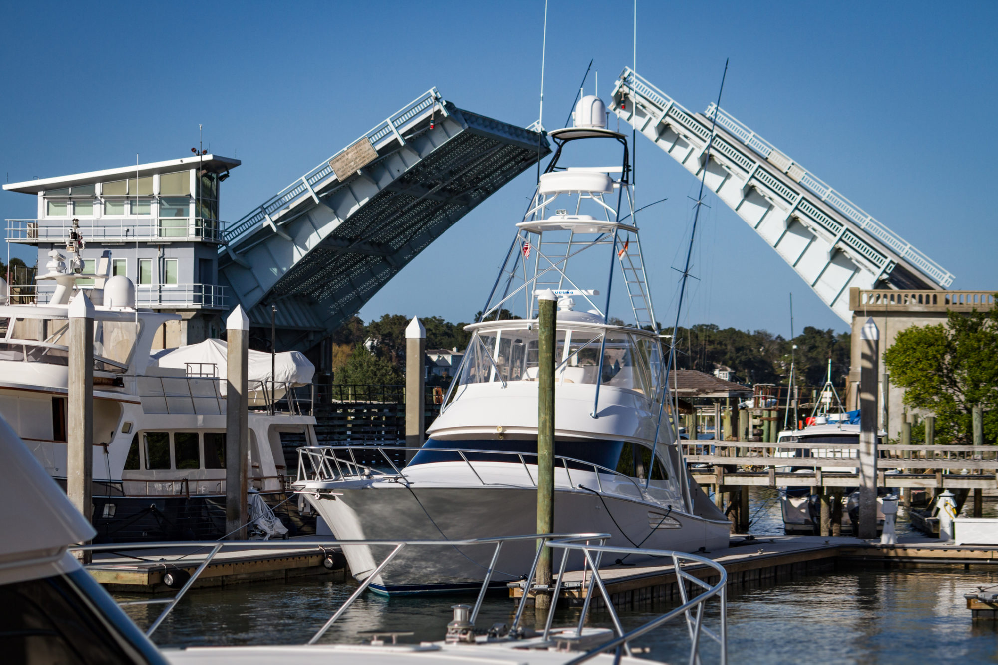 Wrightsville Beach Bridge, home of ar accident and boating accident attorney