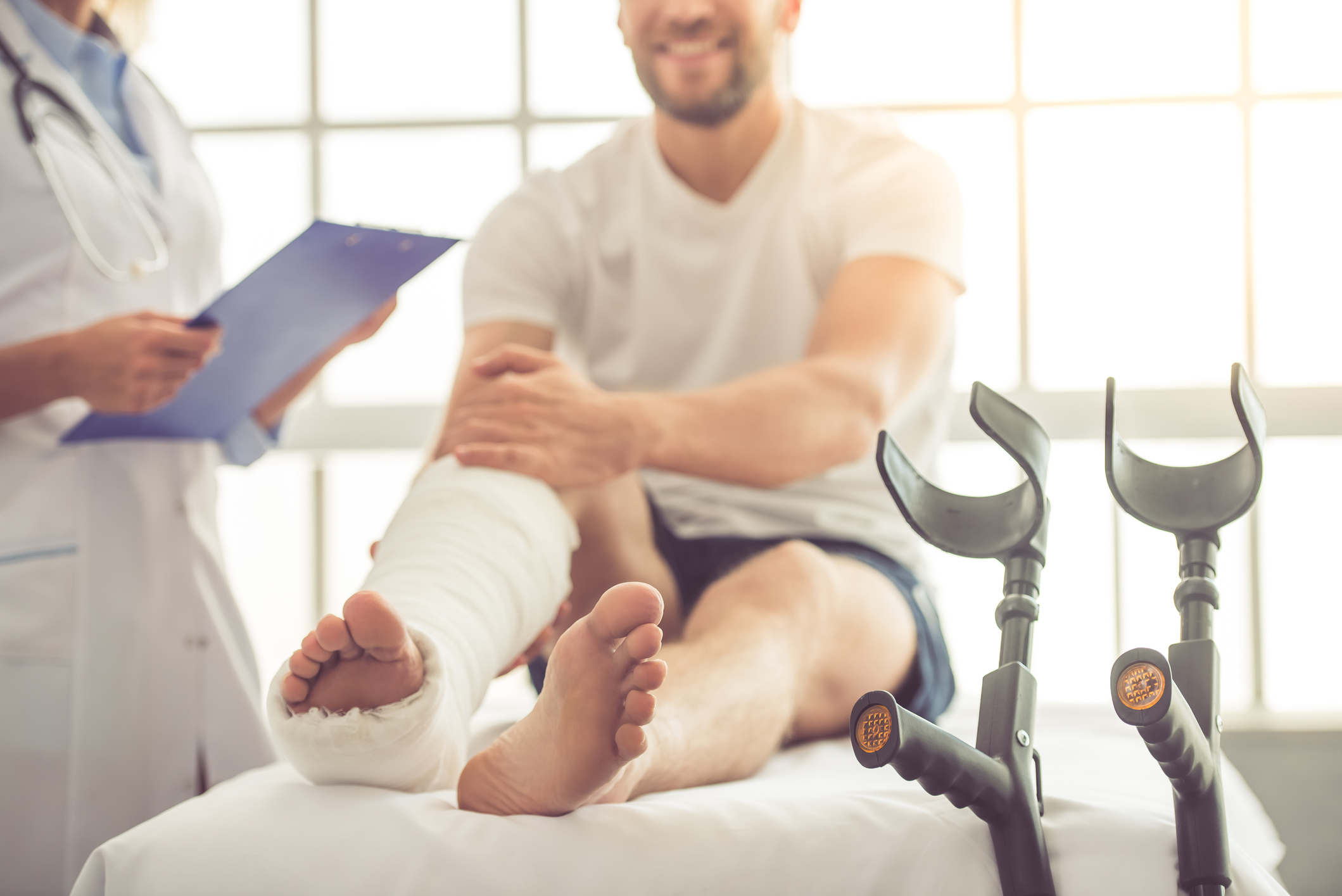 Doctor and patient in need of wilmington nc personal injury attorneys