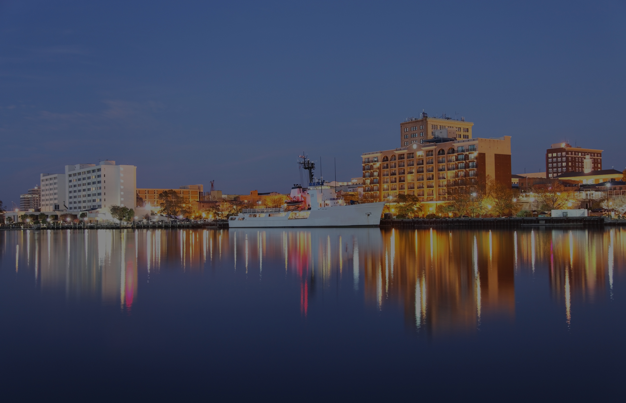 Downtown Wilmington, home of Grayson Cheek, a wilmington nc personal injury attorney and criminal defense lawyer